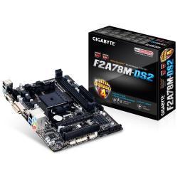 Placa de baza Gigabyte F2A78M-DS2, AMD A78, socket FM2+, mATX