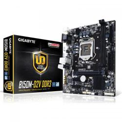 Placa de baza Gigabyte GA-B150M-D2V DDR3, Intel B150, socket 1151, mATX