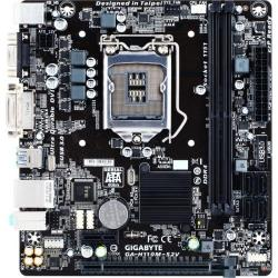 Placa de baza GIGABYTE H110M-S2V Intel H110, Socket 1151, mATX