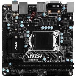 Placa de baza MSI H110I PRO, Intel H110, Socket 1151, mITX