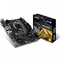 Placa de baza MSI H110M-A PRO M2, Intel H110, Socket 1151, mATX