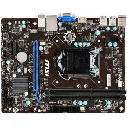 Placa de baza MSI H81M-E33, Intel H81, Socket 1150, mATX