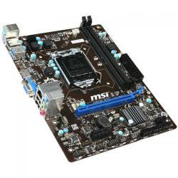 Placa de baza MSI H81M-E33, Intel H81, Socket 1150, mATX