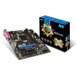 Placa de baza MSI H81M-P32L, Intel H81, Socket 1150, mATX