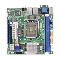 Placa de baza Server ASRock E3C224D2I, Intel C224, socket 1150, Mini ITX