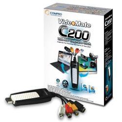 Placa de captura Compro VideoMate C200, USB 2.0