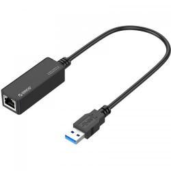 Placa de retea Orico UTL-U3 RJ-45 LAN - USB 3.0, 10/100/1000Mbps, Black