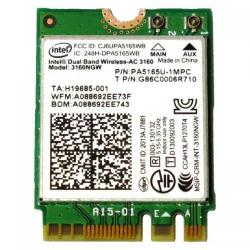 Placa de retea wireless Intel Dual Band 3160.NGWWB.R