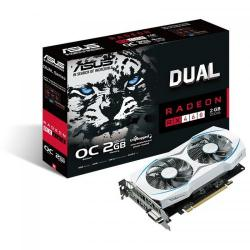 Placa video Asus AMD Radeon RX 460 Dual 2GB, DDR5, 128bit
