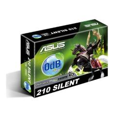 Placa video Asus nVidia GeForce 210 silent V2 1GB, DDR3, 64bit, Low profile