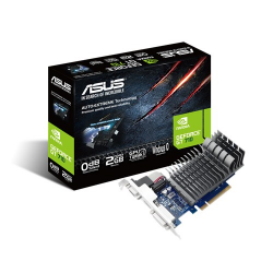 Placa video Asus nVidia GeForce GT 710 2GB, GDDR3, 64bit, Low Profile