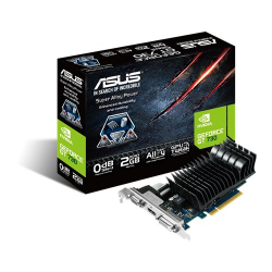 Placa Video Asus nVidia GeForce GT730 Silent 2GB, GDDR3, 64bit, Low Profile Bracket