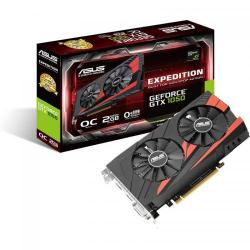 Placa video Asus nVidia GeForce GTX 1050 Expedition O2G 2GB DDR5, 128bit