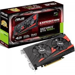 Placa video Asus nVidia GeForce GTX 1050 Ti Expedition O4G 4GB DDR5, 128bit