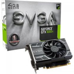 Placa video EVGA nVidia GeForce GTX 1050 Ti Gaming 4GB, GDDR5, 128bit