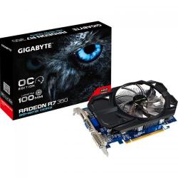 Placa video Gigabyte AMD Radeon R7 350 OC 2GB DDR3, 128bit
