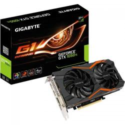 Placa video GIGABYTE GeForce GTX 1050 Ti G1 GAMING 4GB, DDR5, 128bit