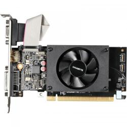 Placa video Gigabyte nVidia GeForce GT 710 Low Profile 1GB, GDDR3, 64Bit