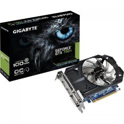 Placa video GIGABYTE nVidia GeForce GTX 750 Ti 1GB, GDDR5, 128bit