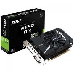 Placa video MSI nVidia GeForce GTX 1050 AERO ITX OCV1 2GB, DDR5, 128bit