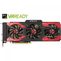 Placa video PNY nVidia GeForce GTX 1080 XLR8 OC GAMING 8GB DDR5X, 256bit