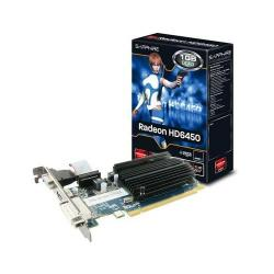 Placa Video Sapphire AMD Radeon HD6450 1GB, GDDR3, 64bit