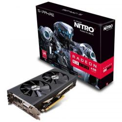 Placa video Sapphire AMD Radeon RX 480 NITRO+ OC Lite 4GB, GDDR5, 256bit