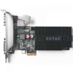 Placa video Zotac nVidia GeForce GT 710 1GB, GDDR3, 64bit, Low Profile Bracket