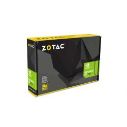Placa video Zotac nVidia GeForce GT 710 2GB, GDDR3, 64bit, Low Profile Bracket