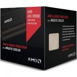Procesor AMD A10-7890K Black Edition 4.1GHz Wraith Cooler, socket FM2+, box