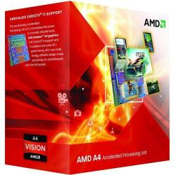 Procesor AMD A4 X2 6320, 3.8Ghz, Socket FM2