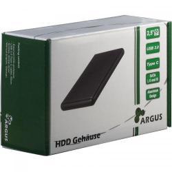 Rack Inter-Tech Veloce GD-25613-S3 USB 3.0, Black