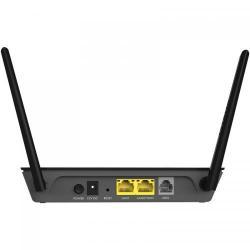 Router wireless NetGear D1500, N300, 2x LAN