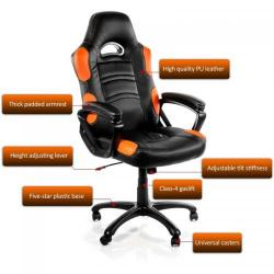 Scaun gaming Arozzi Enzo, Orange