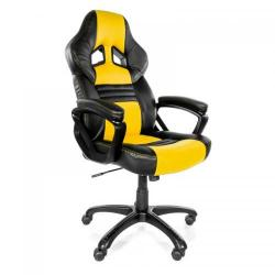 Scaun gaming Arozzi Monza, Yellow