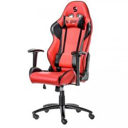 Scaun Gaming SilentiumPC SR300, Red