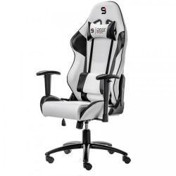 Scaun Gaming SilentiumPC SR300, White