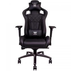 Scaun gaming Tt eSPORTS by Thermaltake X FIT Real Leather, Black