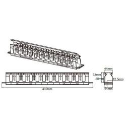 Sistem management cabluri LinkBasic MTC04