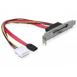 Slot Bracket Delock 65047 intern SATA + Alimentare