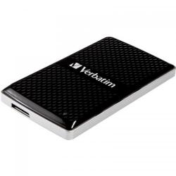 SSD portabil Verbatim Vx450 128GB, USB 3.0, Black