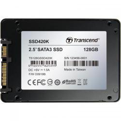 SSD Transcend 420K Series 128GB, SATA3, 2.5inch
