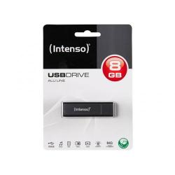 Stick memorie Intenso Alu Line Anthracite 8GB, USB