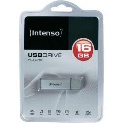Stick memorie Intenso ALU LINE SILVER 16GB, USB