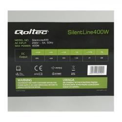 Sursa Qoltec ATX SilentLine 400W, PFC II, Bulk