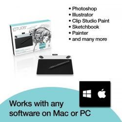 Tableta grafica WACOM Intuos Draw Pen S North, Blue