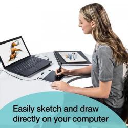 Tableta grafica WACOM Intuos Draw Pen S North, White