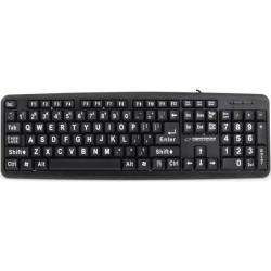 Tastatura Esperanza EK129 USB, Black