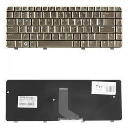 Tastatura Notebook Qoltec pentru HP DV4-1000, Crem