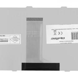 Tastatura Notebook Qoltec pentru Toshiba Satellite A200, M200, A300, M300, L300, Grey
